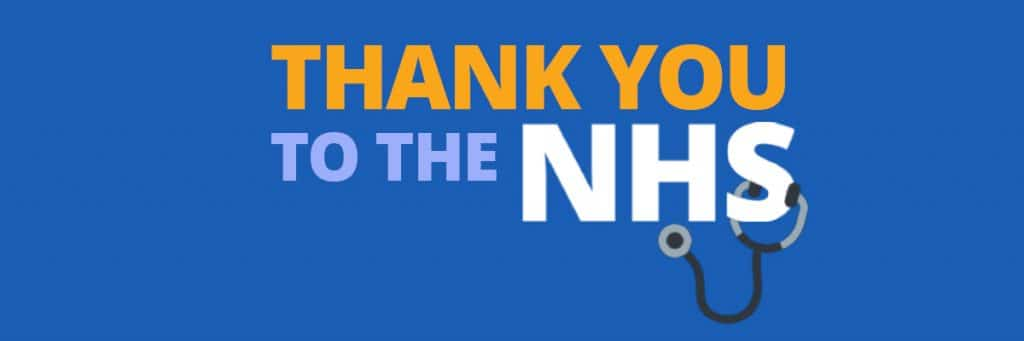Thank you NHS will writers in Reading Berkshire