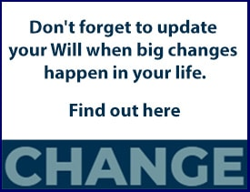 change in your will button